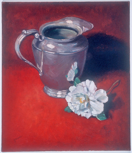 Silver-Pitcher-with-Camelia-